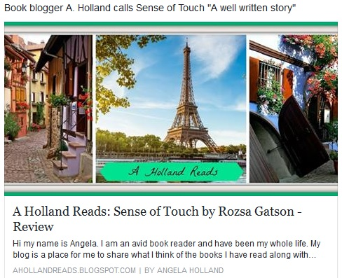 A. Holland Reads Blog review 8-2-16